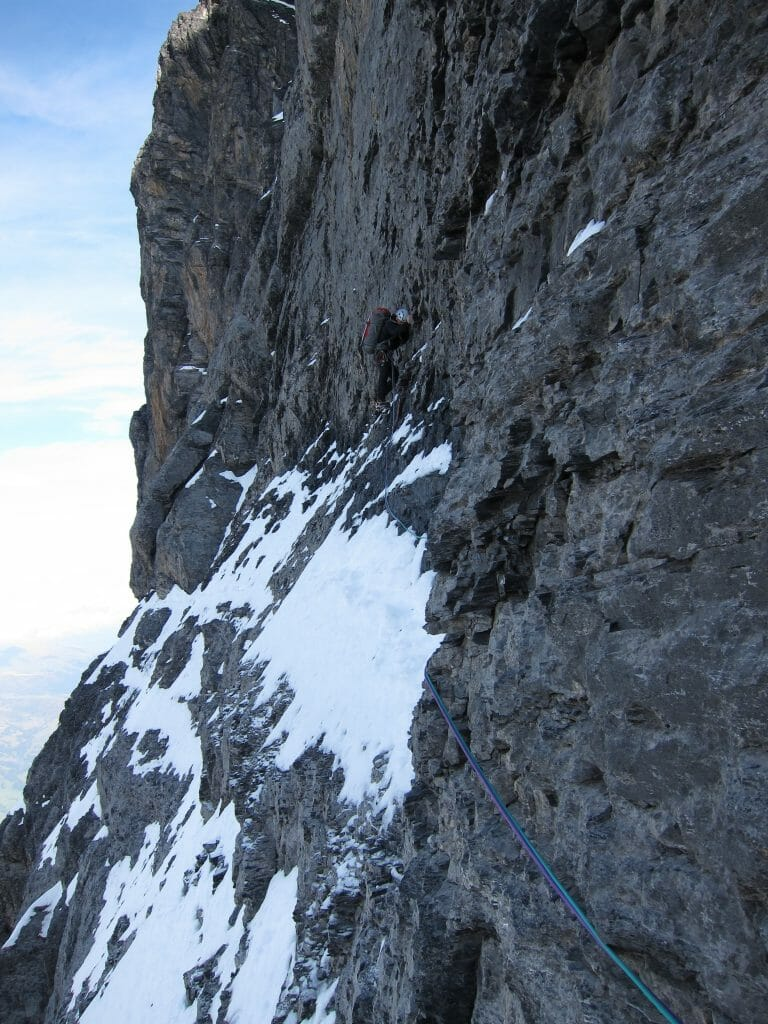 eiger traverse of the gods